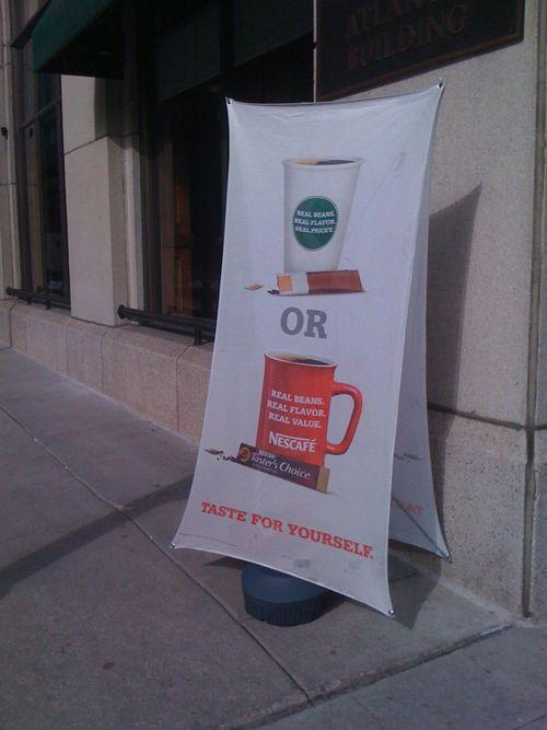 Nescafe vs. Starbucks