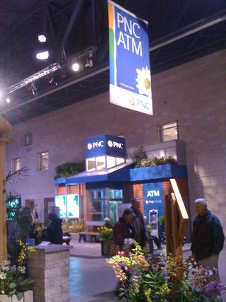 PNC at the Phila. International Flower Show