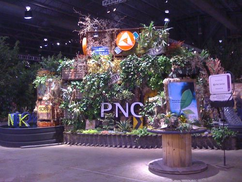 PNC at the Flower Show